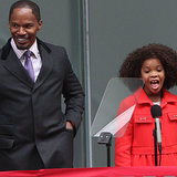 Interview With Jamie Foxx and Quvenzhane Wallis About Annie