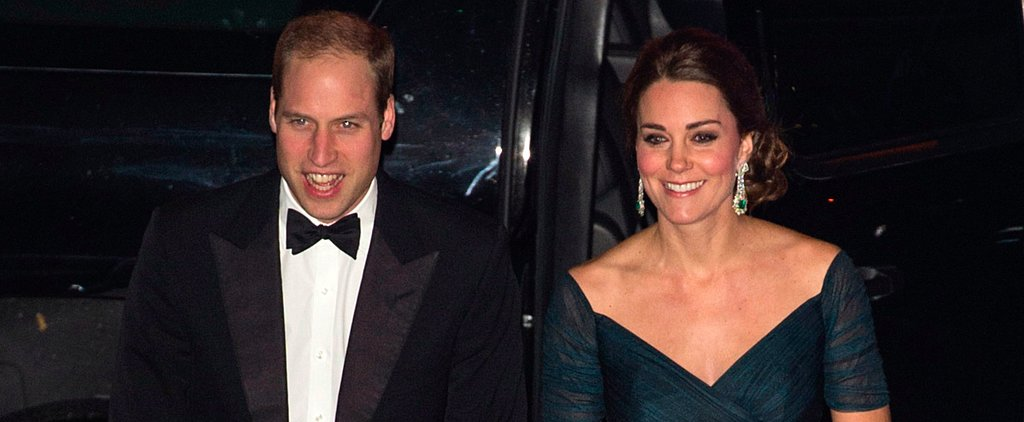 Kate Middleton Shows Off Her Baby Bump at a Super Glam NYC Gala