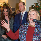 Prince William and the Duchess of Cambridge May Have Made Hillary Clinton's Night