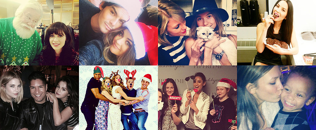 Stars Get Into the Holiday Spirit in This Week's Celebrity Candids