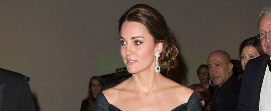 Kate Middleton's Stunning Updo Makes Us Want to Bow Down