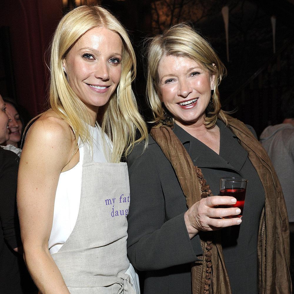 Gwyneth Paltrow vs. Martha Stewart