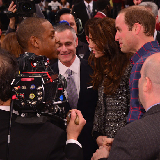 Kate Middleton and Prince William Meet Celebrities in NYC