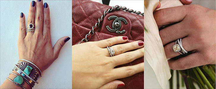 34 Real-Girl Ways to Style Your Wedding Band