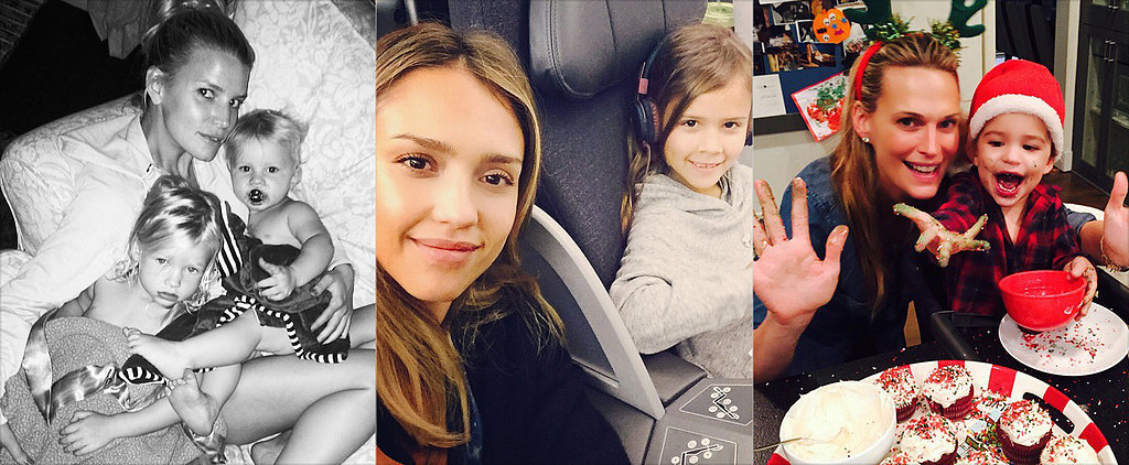 Our Top 4 Instagramming Celebrity Moms (and 1 Dad!) of 2014
