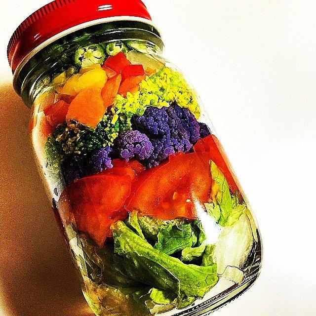 Purple Cauliflower Salad
