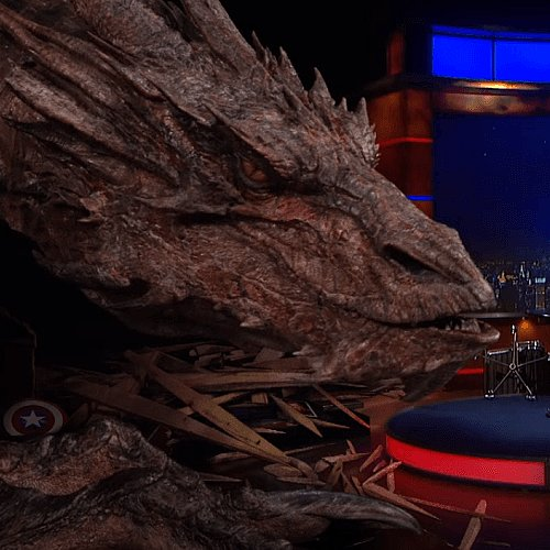 Stephen Colbert Interview With Smaug