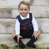 Prince George Christmas Portraits 2014