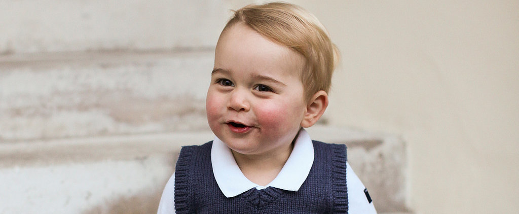 Prince George Couldn't Be Cuter in His New Holiday Pictures