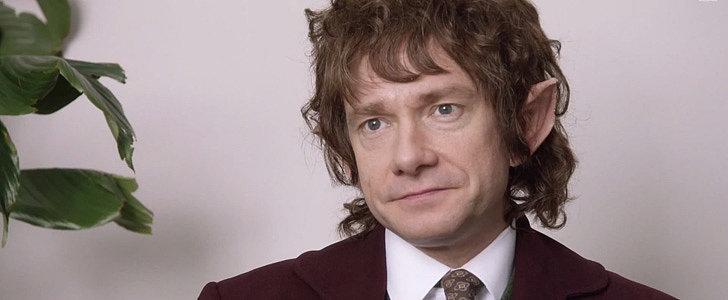 The Hobbit Meets The Office When Martin Freeman Hosts SNL
