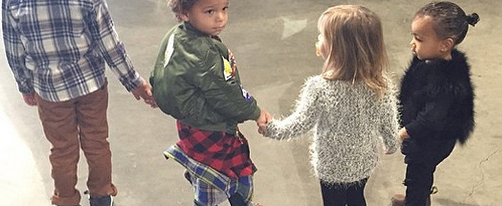 North West Carried a Chanel Bag to Her Cousin's Birthday Party