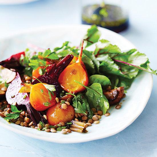 Lorna Jane Beetroot and Lentil Salad