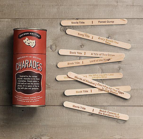 Select-o-Stick Charades