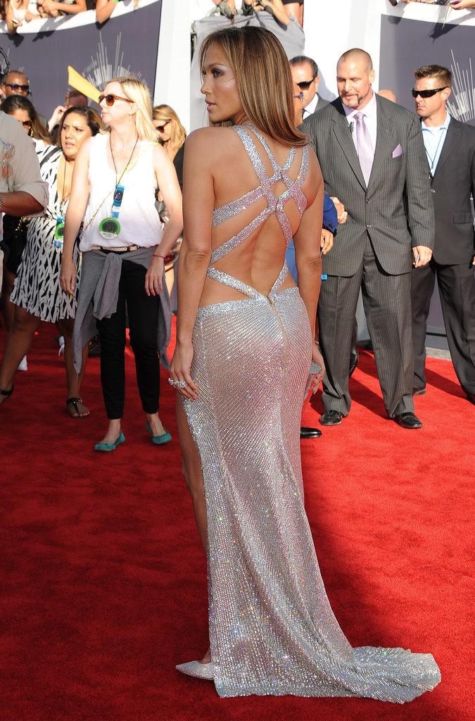 Stars Wearing Dresses With Beautiful Backs