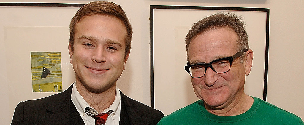 "Robin Williams's Son: ""I Miss Him All the Time"""