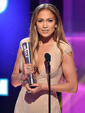 PEOPLE Magazine Awards: Jennifer Lopez Wins Triple Threat Award