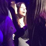 Jessica Biel Baby Bump at Justin Timberlake Concert