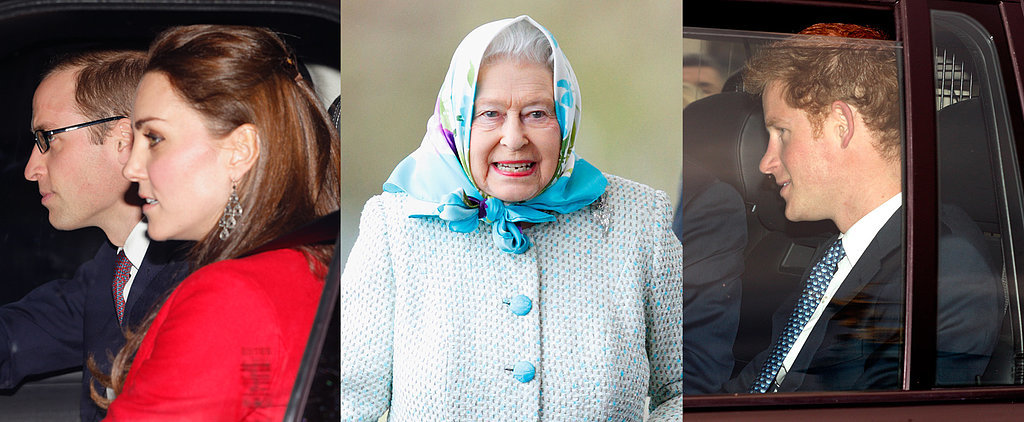 Will and Kate Bring George Along For a Big Royal Tradition