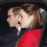 The British Royal Family's Pre-Christmas Lunch 2014