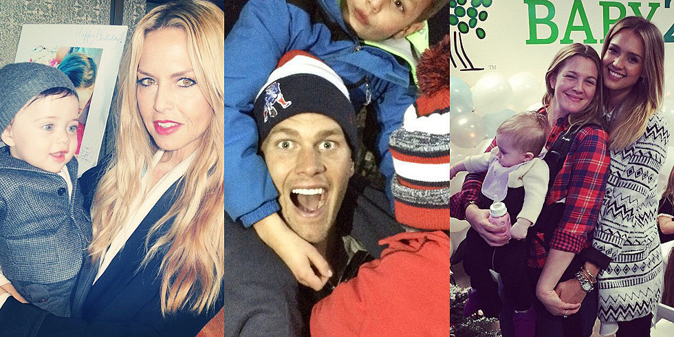 Drew, Gisele, Beyoncé, and More Shared the Sweetest Snaps of Their Tots This Week!