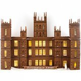 Martha Stewart's Downton Abbey Gingerbread House