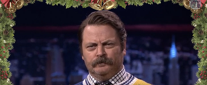 """Nick Offerman's Take on """"'Twas the Night Before Christmas"""" Is Just So Real"""