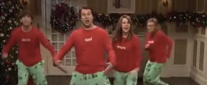 You Don't Want to Miss Saturday Night Live's Spoof of Christmas Jammies Video