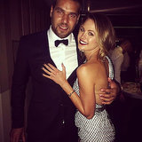 "Jesinta Campbell and Lance ""Buddy"" Franklin Pictures"