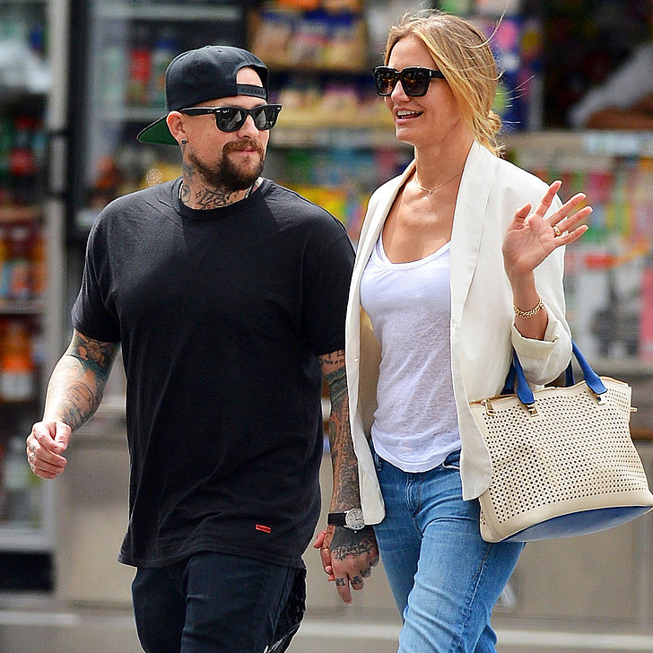 Cameron Diaz And Benji Madden Are Engaged Popsugar Celebrity
