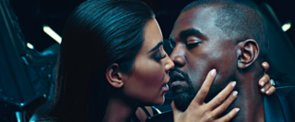 Only Kim and Kanye Can Make a Makeout Session Look Chic