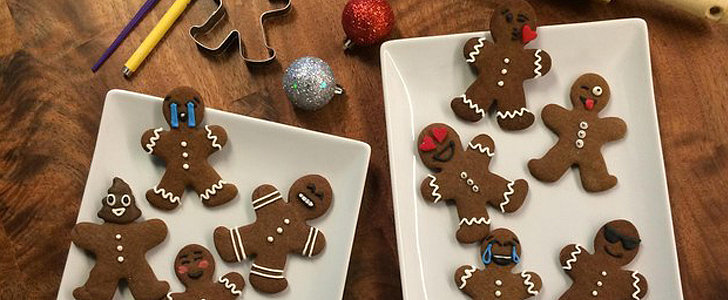 Emoji Gingerbread Cookies Basically Guarantee Ear-to-Ear Smiles
