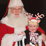 Kelly Clarkson's Baby Daughter's Picture With Santa