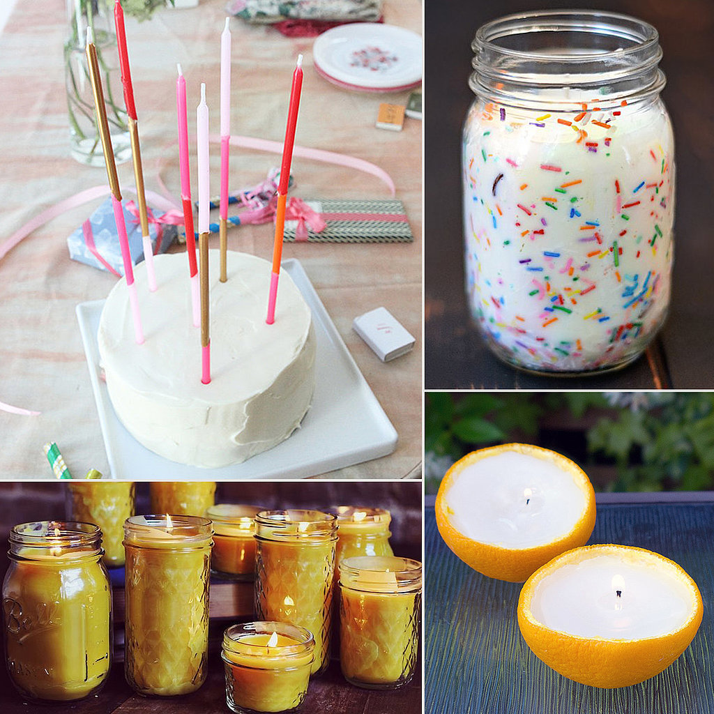 diy candle ideas popsugar smart living