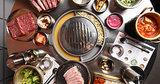 Here's Everything on the Table at Korean Barbecue Spot Kang Ho Dong Baekjeong