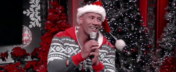 Merry Christmas From The Rock, His Onesie, and His Hilarious Holiday Card