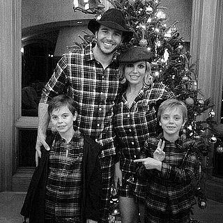 Celebrity Family Christmas Pictures 2014