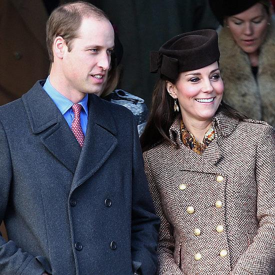 Prince William and Pregnant Kate Middleton At Sandringham