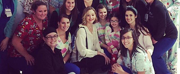 Jennifer Lawrence Spent Her Christmas Eve in the Most Heartwarming Way Possible
