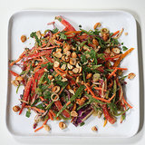 Crunchy Thai Veggie Salad with Peanut Dressing