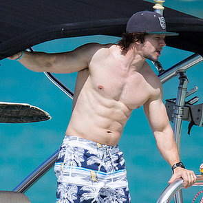 Mark Wahlberg and Rhea Durham Sexy PDA at the Beach