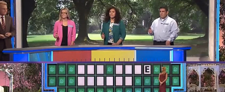 This Wheel of Fortune Contestant Solved a Puzzle With Only One Letter