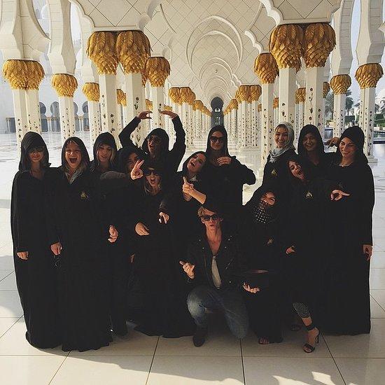 Kendall Jenner, Gigi Hadid and Selena Gomez NYE in Dubai