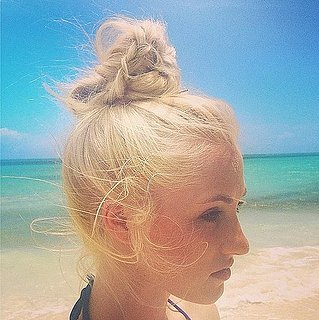 Hair Inspiration: Buns And Top Knots On Instagram