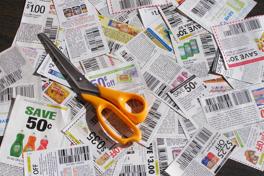 Clip coupons.