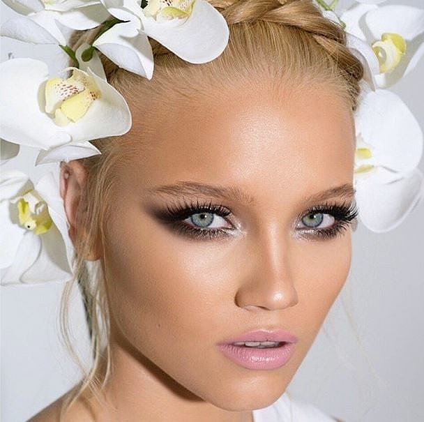 Glamorous Bride Makeup Look Inspiration POPSUGAR Beauty ...