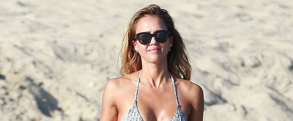 Jessica Alba's Bikini Body Will Inspire Your New Year's Resolution