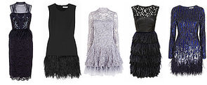 Are Feathered Frocks the New Flapper Dresses?