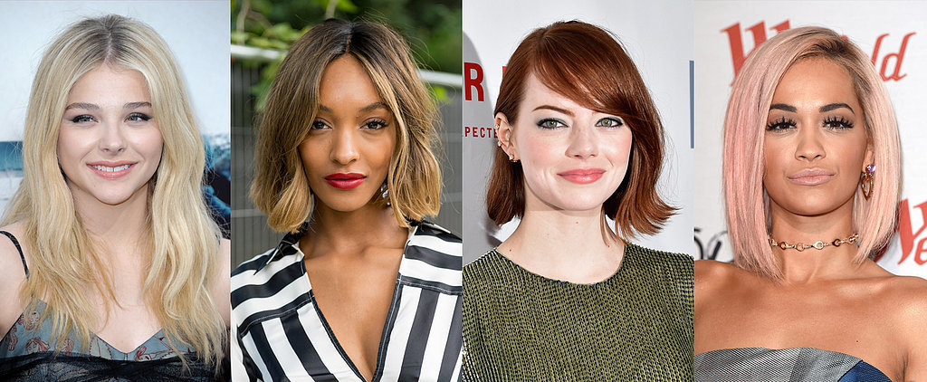 The Ultimate Guide to Every Celebrity Hair Colour on the Spectrum