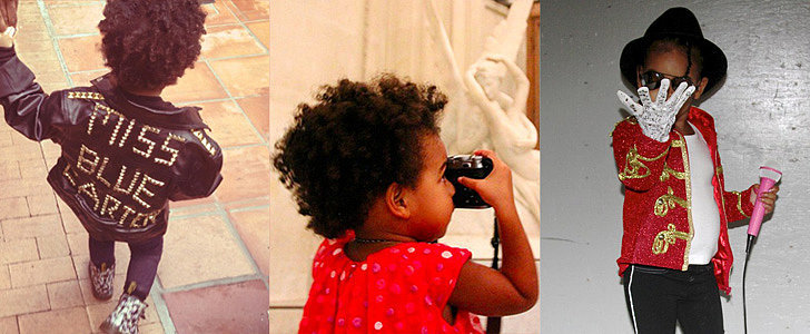 A Lesson in Being the World's Coolest Toddler, Taught by Blue Ivy Carter