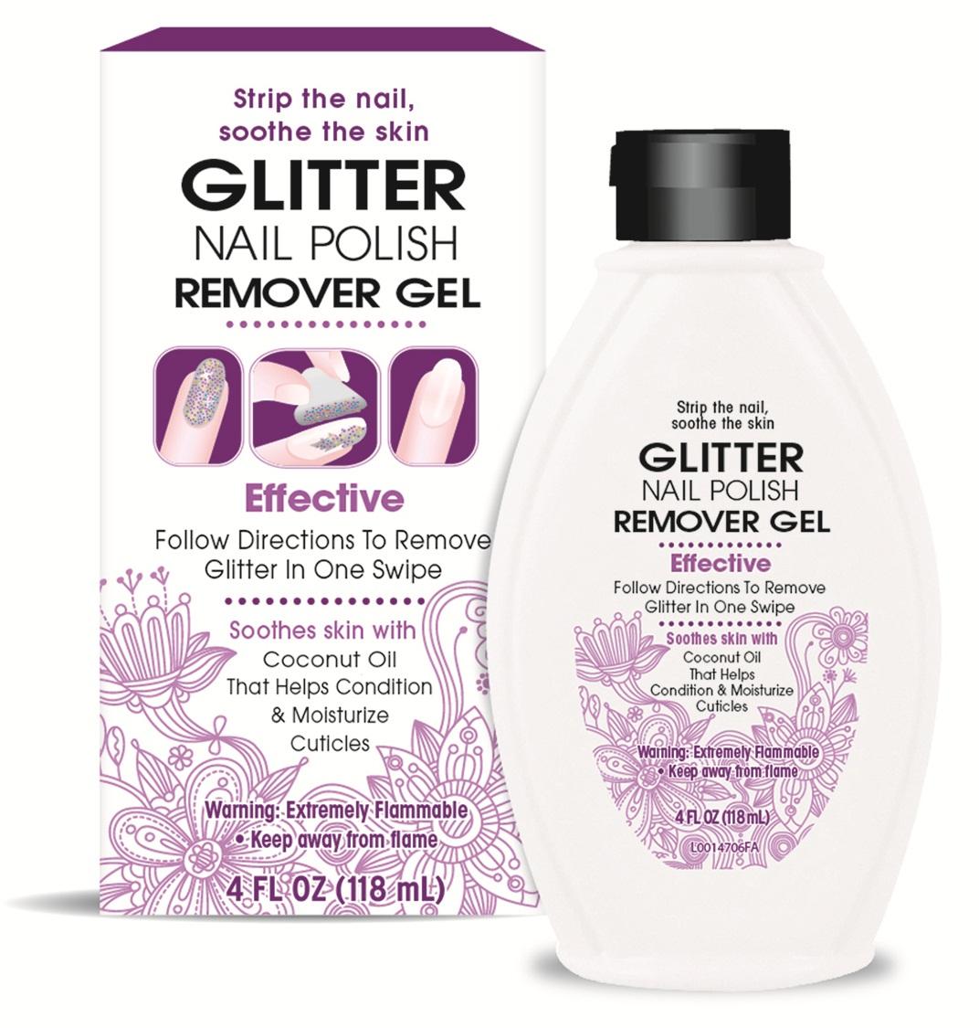 glitter nail polish remover